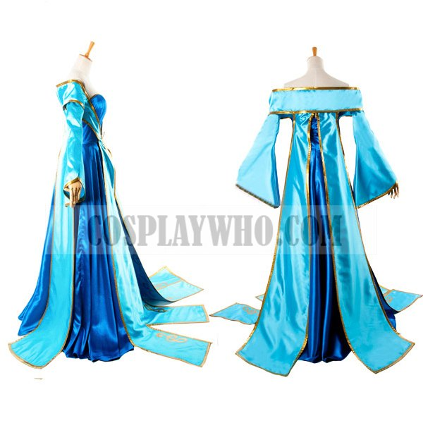 lol sona cosplay costume