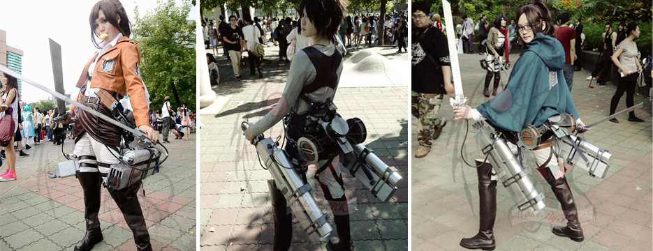 attack on titan 3d gear