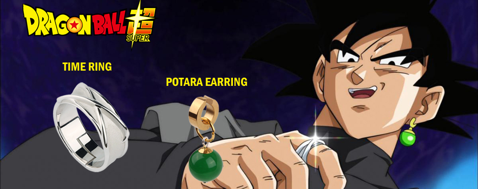 dragon ball super time ring earring