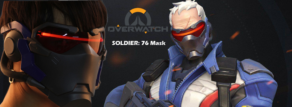 overwatch soldier 76 mask