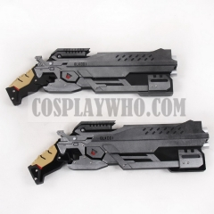 Overwatch Blackwatch Reyes Reaper Cosplay Hellfire Shotguns