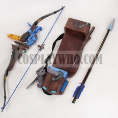 Overwatch Young Master Hanzo Cosplay Storm Bow