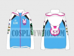 Overwatch D.Va Cosplay Jacket
