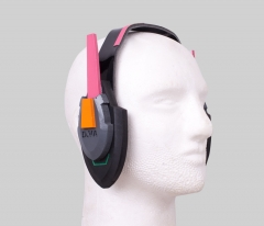 Overwatch D.Va Headset Cosplay Accessory