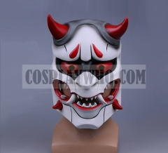 Overwatch Oni Genji Cosplay Mask