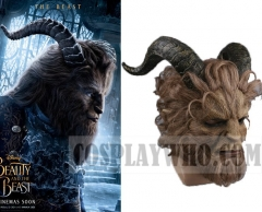 Beauty and the Beast (2017 film) Beast Cosplay Mask Helmet