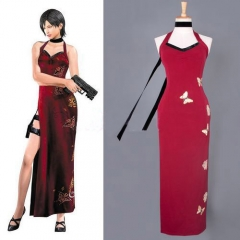Residen Evil 4 Ada Wong Cosplay Dress