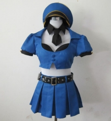 LOL Officer Caitlyn Cosplay Costume