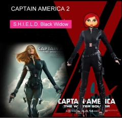 Captain America 2 Black Widow Costume