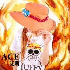 One Piece Ace Cosplay Hat