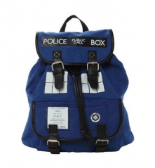 Doctor Who Dr. Blue Tardis Knapsack