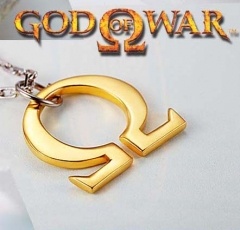 God of War Silver Necklace Pendant