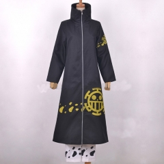 Trafalgar Law Long Black Coat (After Timeskip)