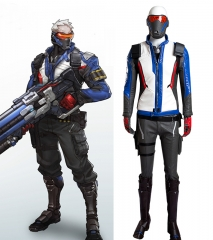 Overwatch Soldier 76 Cosplay