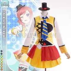 Love Live Sunny Day Song Maki Cosplay Costume