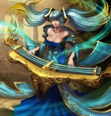 League of Legends Sona Instrument Cosplay Props