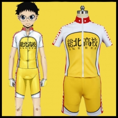 Yowamushi Pedal Souhoku High Bike Racing Suits