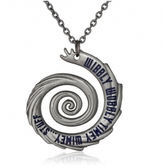 Doctor Who Timey Wimey Pendant Necklace