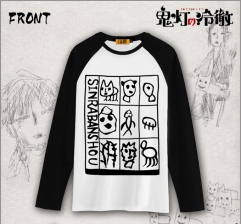Hoozuki no Reitetsu Hakutaku Cosplay Long-sleeved T-shirt
