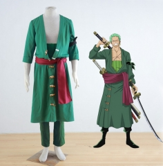 One Piece Roronoa Zoro After the Timeskip Cosplay Costume