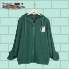 Attack on Titan Bat Sleeve Hoodie