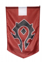 World of Warcraft Horde Banner Flag