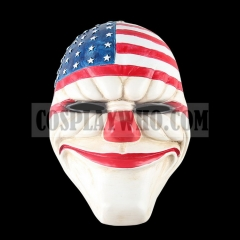 PAYDAY 2 The Heist Dallas Mask Cosplay Props