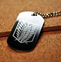 Attack on Titan Badge Pendant