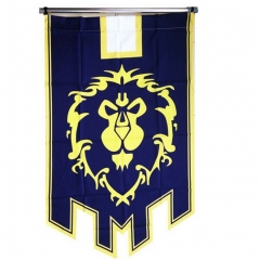World of Warcraft Alliance Banner Flag