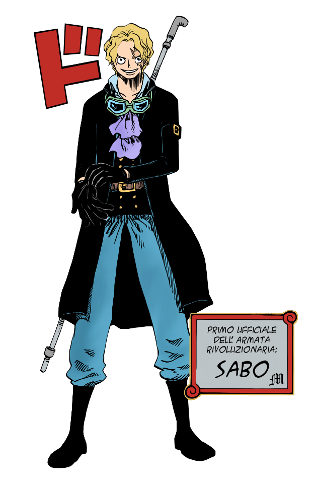 One Piece Sabo Pipe Weapon