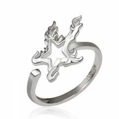 Black Rock Shooter BRS Star Ring