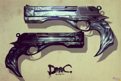 DMC Devil May Cry New Ebony and Ivory