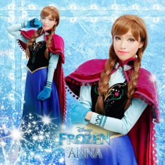 Frozen Anna Winter Outfit Cosplay