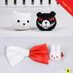 Dangan Ronpa Enoshima Bear and Rabbit Hairpins