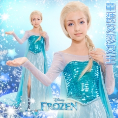 Frozen Elsa Dress Children Version