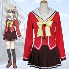 Charlotte Nao Tomori Cosplay Uniform