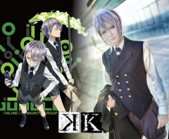 K Return of Kings Sukuna Gojo Cosplay