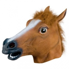 Horse Head Mask Halloween Costume