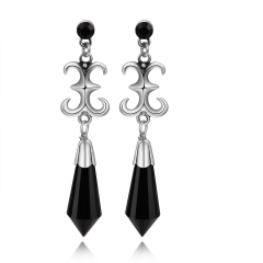Sailor Moon Black Lady Earrings 1 Pair