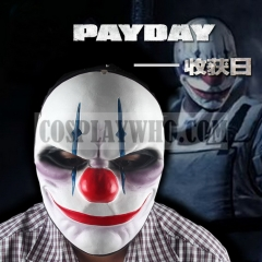 PAYDAY 2 Chains Mask Heist Joker Halloween Cosplay Mask