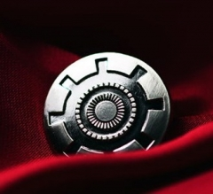 Iron Man Power Core Metal Badge