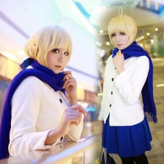 Fate Stay Night Saber Winter Costume
