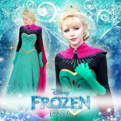 Frozen Elsa Pre-Snow Queen Costume
