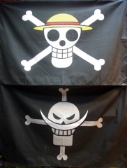 One Piece Straw Hat Pirate Flag