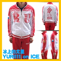 Yuri!!! on Ice Viktor Nikiforov Cosplay Costume