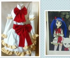 Fairy Tail Wendy White Dress Costume