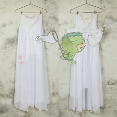 Nanatsu no Taizai Elaine Cosplay White Dress