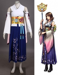 Final Fantasy X Yuna Summoner Costume