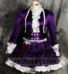 LOL Goth Annie Cosplay Costume