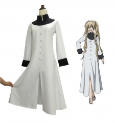 Blood Blockade Battlefront White Dress